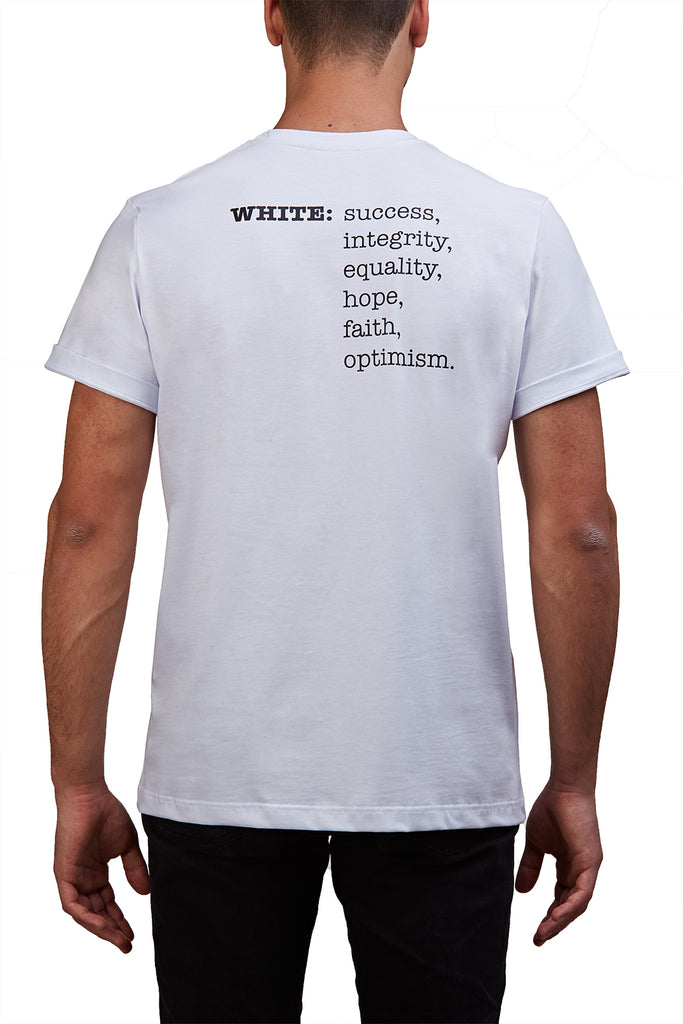 MONOCHROME SLOGAN T-SHIRT
