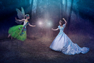Dueling Fairy and Princess Witches