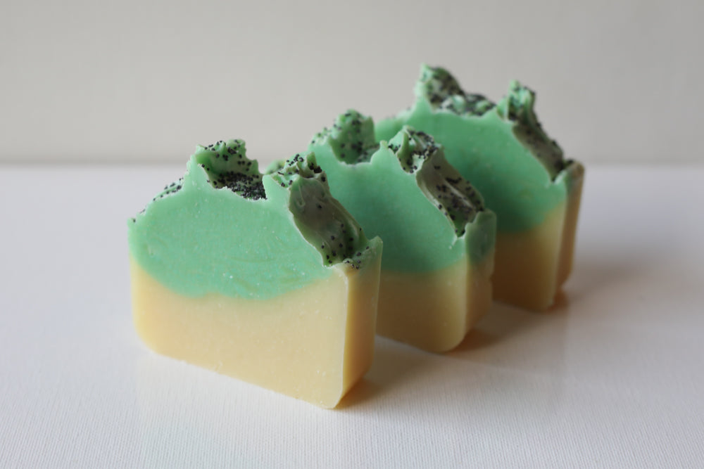 Lemongrass and Poppy Seed Soap