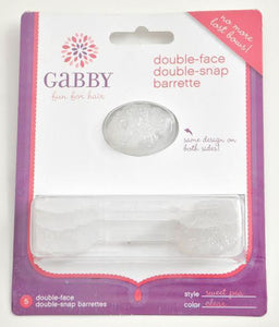 GaBBY Bows Sweet Pea Style - Clear