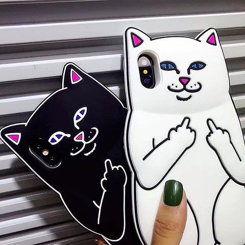 Coque Chat 3D RIPNDIP - HypeTechShop