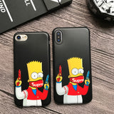 Coque Supreme Bart Simpson - HypeTechShop