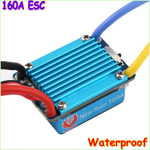 1pcs Waterproof Brushed ESC 160A 3S with 5V 1A BEC T-Plug