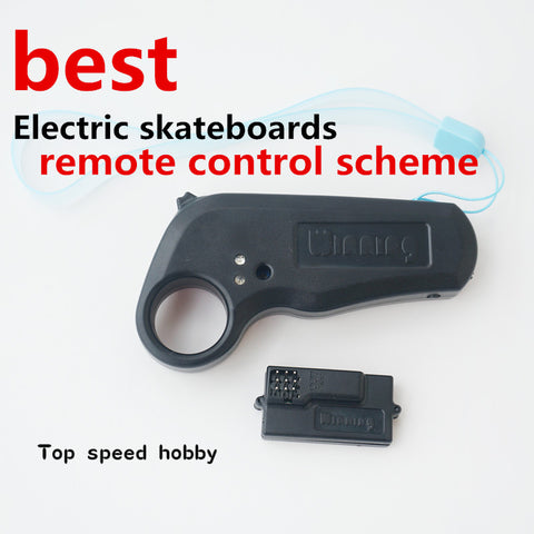 2.4Ghz Mini Remote Controller With Receiver For Electric Longboard