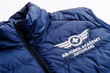 GILET AIR FORCE ACADEMY SUI ULTRA-LIGHTWEIGHT SLEEVELESS DOWN JACKET