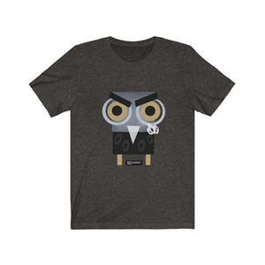 Barny the owl fuck you t shirt Unisex Jersey Short Sleeve Tee Fuck