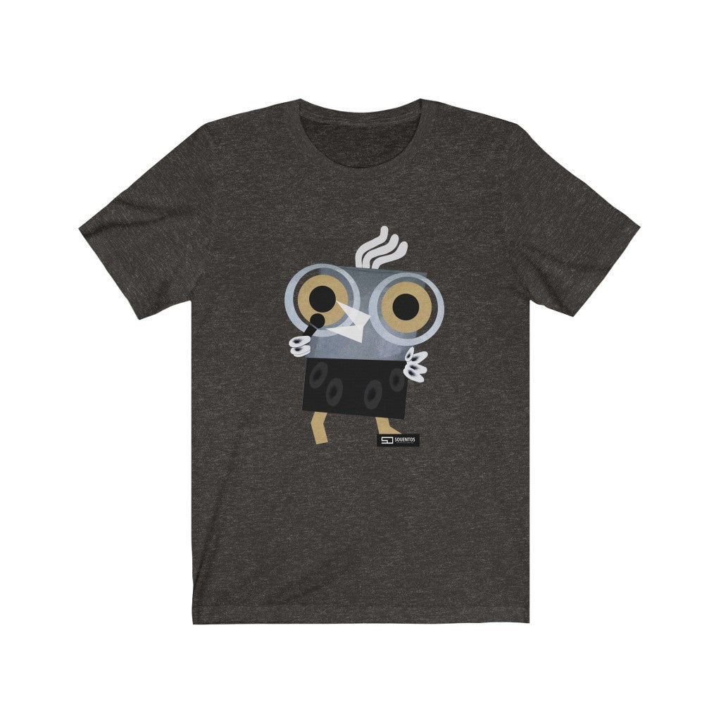 Barny the owl singer t shirt singing cantar Unisex Jersey Short Sleeve Tee Cantar