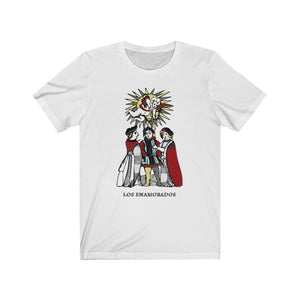 Unisex Jersey Short Sleeve Tee Los Enamorados-Gli Amanti-The Lovers
