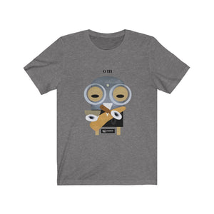 Om aum indian mantra meditation t shirt Barny the Owl Unisex Jersey Short Sleeve Tee Om krishna barny