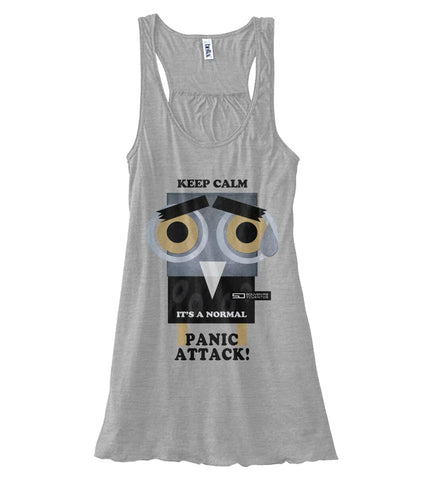 barny panic attack tank top