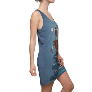Women's Cut & Sew Racerback Dress Yemaya