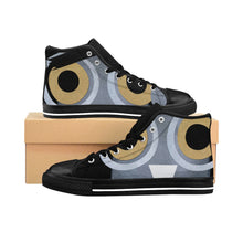 Women's High-top Sneakers Barny the owl