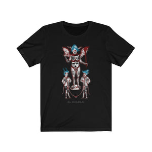 Unisex Jersey Short Sleeve Tee The devil- Il diavolo- El diablo