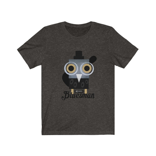 Barny the Owl bluesman t shirt Unisex Jersey Short Sleeve Tee Bluesman