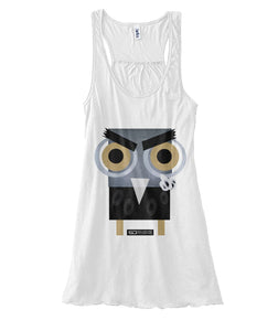 Barny the Owl fuck tank top