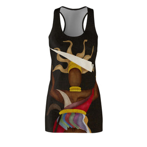 Women's Cut & Sew Racerback Dress Oya