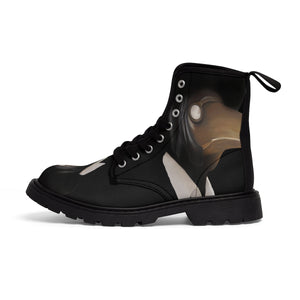Men's Canvas Boots Plague Doctor