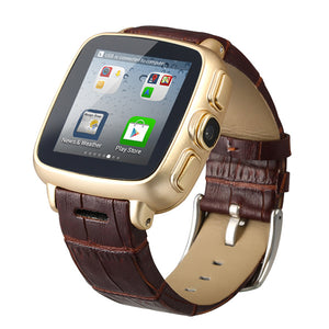 Fashion Smartwatch Wristwatch Waterproof Smart Watch Android Phone Watch with Dustproof Pedometer Android 3G Watch Smartphone