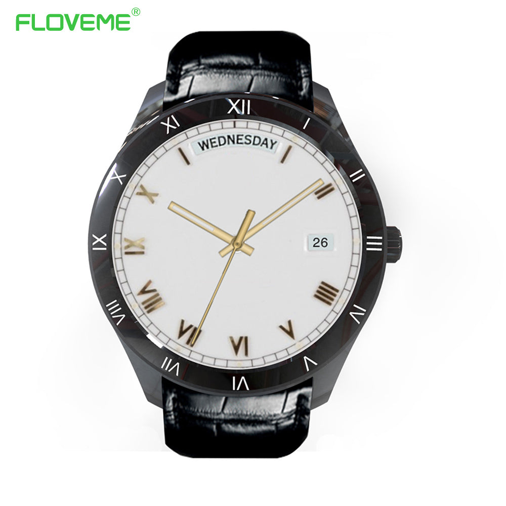 FLOVEME Q5 Bluetooth 4.0 Smart Watch Sync Notifier Sim Card GPS Smartwatch For Apple iPhone IOS Android Phone Wear Watch Sport