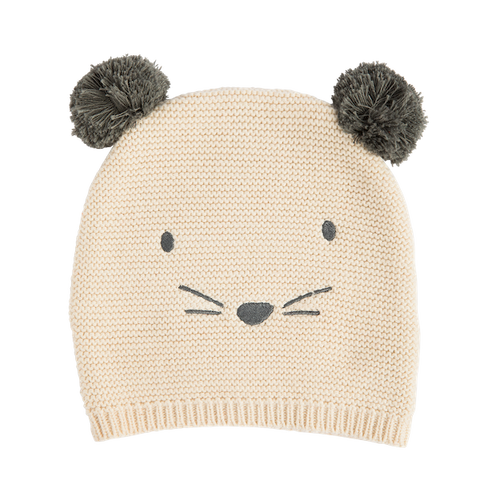BEANIE MOUSE YELLOW