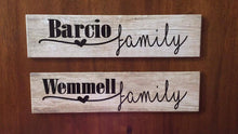 Personalized Family Plaque