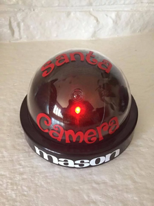 Personalized Santa Surveillance Camera| Batteries Included!