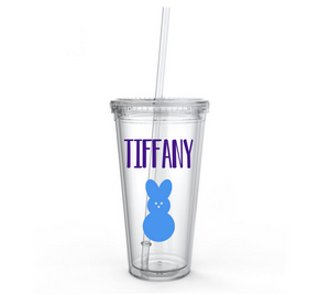 Easter Peep 16oz Tumblers | 28 Font Styles To Choose From!