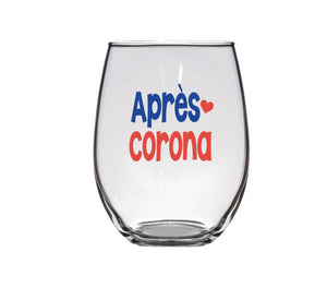 Apres Corona Wine Glasses