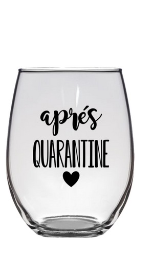 Apres Quarantine Glass