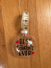 Best Teacher Ever Ornaments | Gift Box Included!