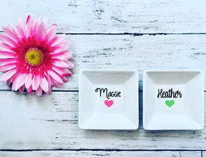 Personalized Jewelry Dishes
