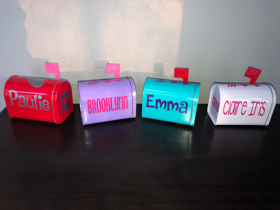 Personalized Mini Mailboxes