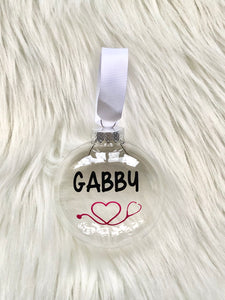 Personalized Ornaments For Medical Professionals | Gift Box Included!