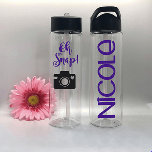 Personalized Water Bottle For Photographers