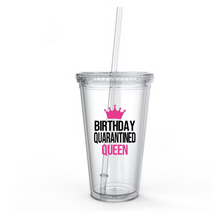 Birthday Quarantined Queen Tumbler