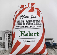 Personalized Santa Sacks! | 24 Different Font Styles To Choose From