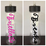 Personalized Stethoscope Water Bottle