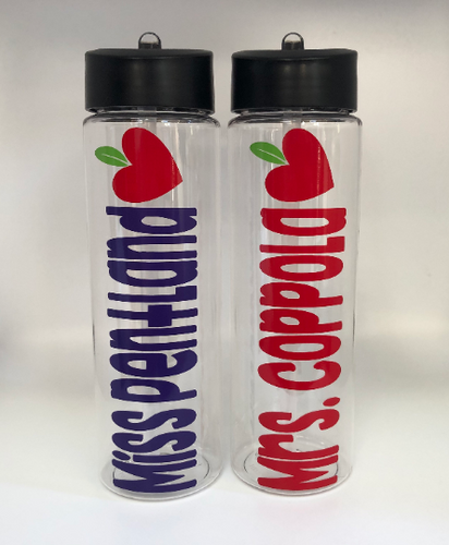 Personalized Water Bottles For Teachers