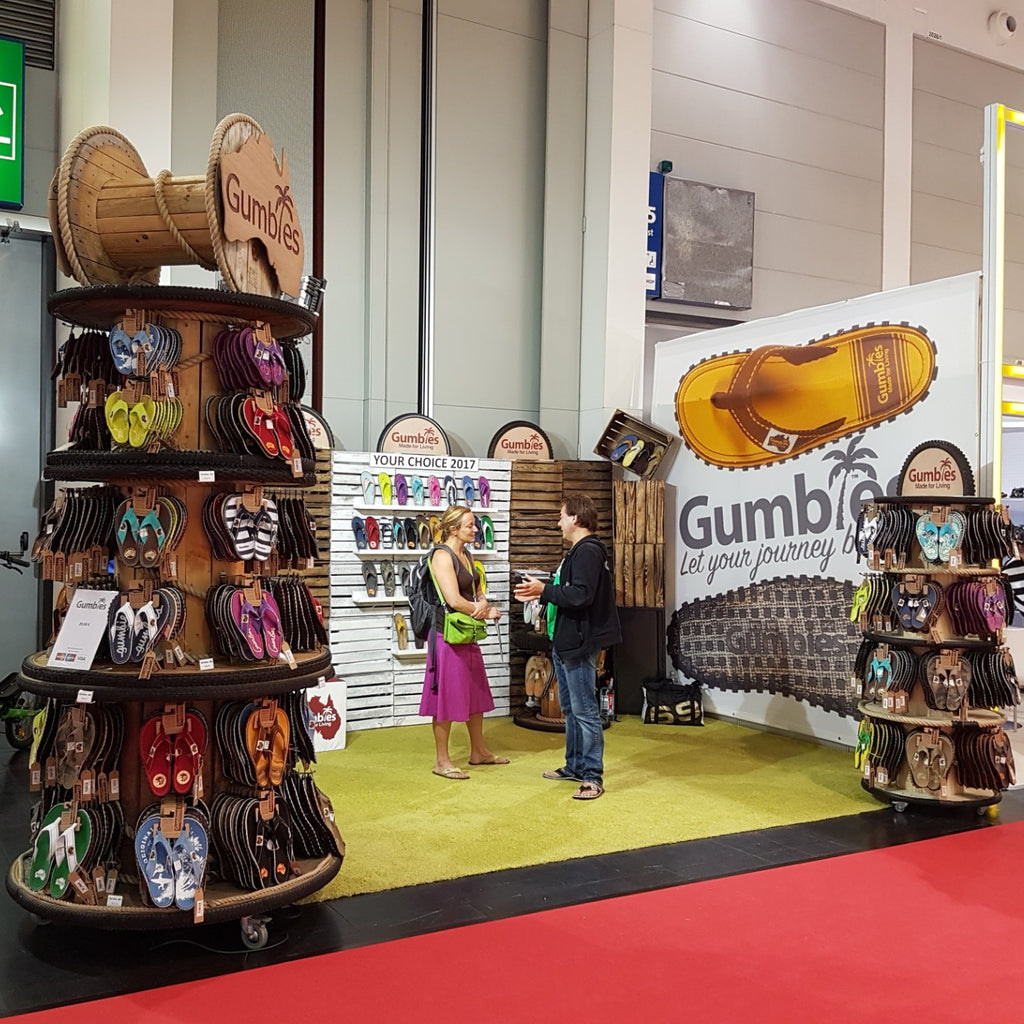 Gumbies Journey to OutDoor Friedrichshafen, Germany - July 2016