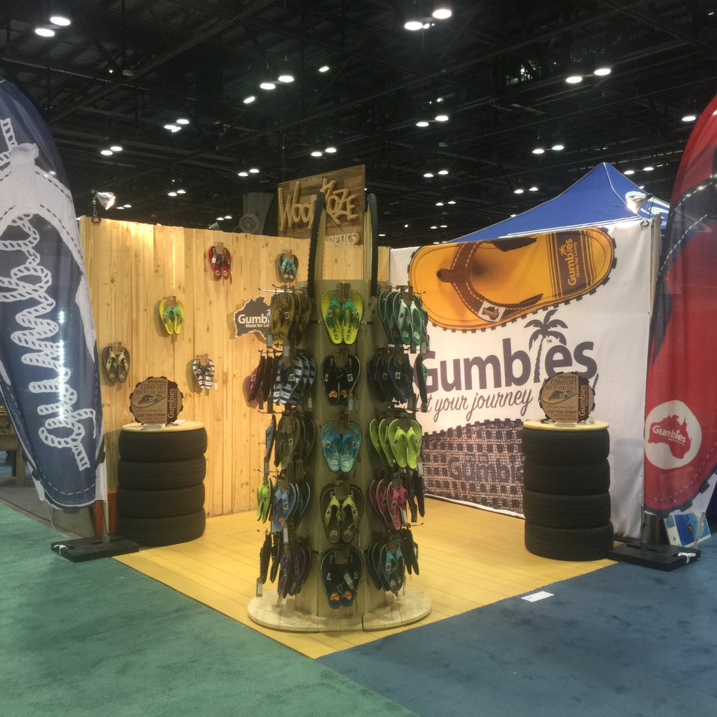 Gumbies Journey to Surf Expo, Orlando, USA - January 2016