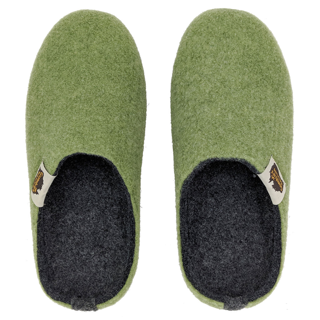 Outback Slipper Moss & Charcoal