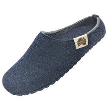 Outback Slipper Navy & Grey