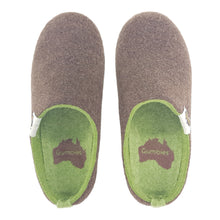 Outback Slipper Brown & Moss