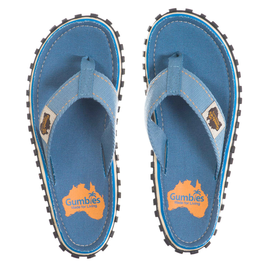 Islander Flip-Flops - Light Blue