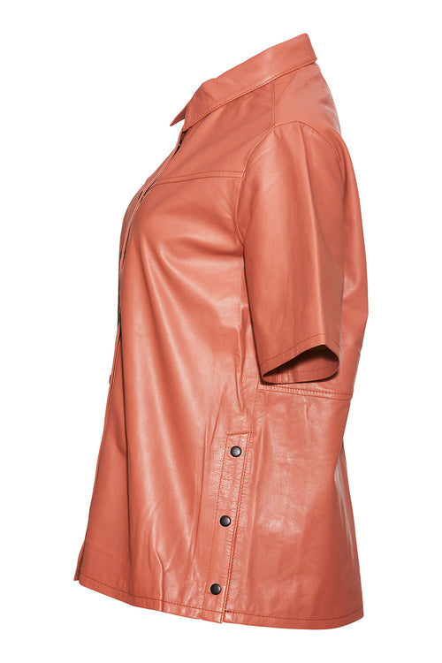 Odessa Leather Shirt