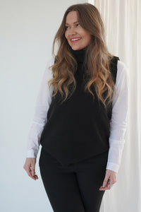 Lilli Strik Vest - Sort