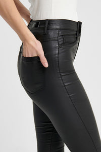 Shape High Waist Jeans (Forudbestilling lev. uge 9/10) - Coated Sort