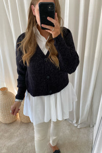 Lisajive Cardigan - Sort