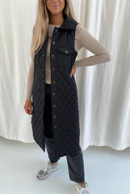 Maluca Vest - Quilted Sort