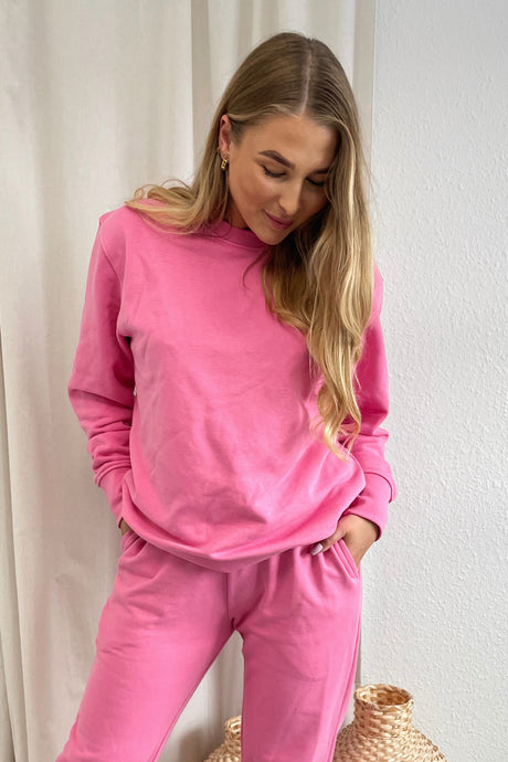 Couch Sweatshirt - Soft Pink